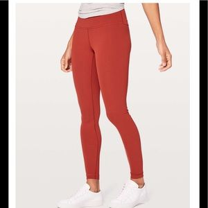 Lululemon luxtreme high rise wunder under